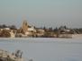 Attainville sous la neige